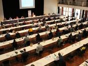 Die Tagung fand mit viel Abstand in der Stadthalle Unna statt